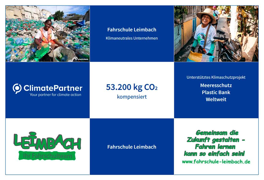 Fahrschule Leimbach Projektdetails ClimatePartner